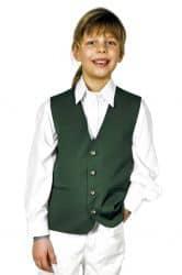"""Kinderweste """"Fabian"""" dunkelgrün"""