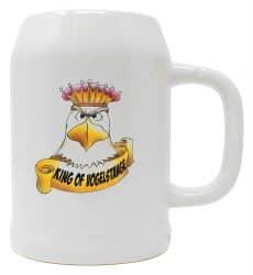 """Bierkrug 0,5l """"King of Vogelstange"""""""