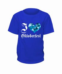 "T-Shirt ""I Love Oktoberfest"" - Kinder"