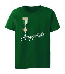 """T-Shirt """"Ausgezeichnet"""" - Kinder"""