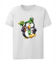 """T-Shirt """"Pinguin Tabsy"""" - Kinder"""