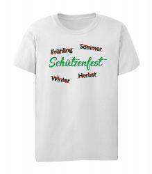 """T-Shirt """"Jahreszeiten"""" - Kinder"""