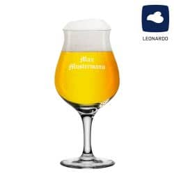 Leonardo Biertulpe 0,33l Taverna mit Gravur