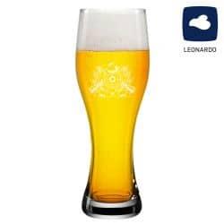 Leonardo Weizenglas 0,5l mit Schützenlogo