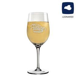 Leonardo Weißweinglas 300ml Ciao+ mit Narrenkappe