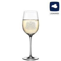 Leonardo Weißweinglas 370ml Ciao+ mit Schützenlogo