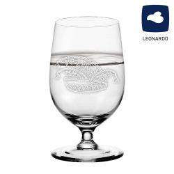 Leonardo Wasserglas 300ml Ciao+ mit Narrenkappe