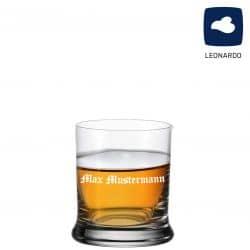 Leonardo Whiskeyglas 350ml mit individueller Namensgravur