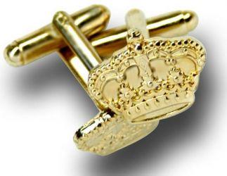 Manschettenknöpfe mit Krone