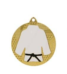 """Medaille """"Judo"""" Ø 50mm mit Band"""