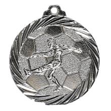 "Medaille ""Fußball"" silber"