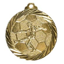 "Medaille ""Fußball"" gold"