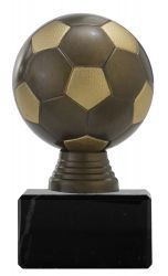 "Ballpokal ""Fußball"" PF300.5 altgold/gold"