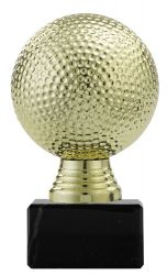 "Ballpokal ""Golf"" PF308.1 gold"