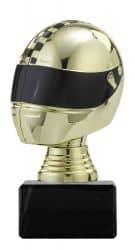 """Figurpokal """"Helm"""" PF353.1 gold/schwarz"""