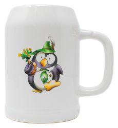 """Bierkrug 0,5l """"Pinguin Tabsy"""""""