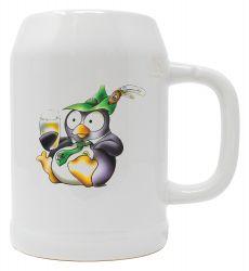 "Bierkrug 0,5l ""Pinguin Eddy"""