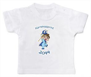 "Babyshirt ""Karnevalsprinz 2044"""
