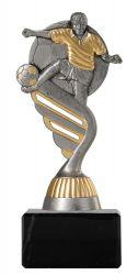 Fußballpokal PF200 altsilber-gold