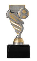 Fußballpokal PF201 altsilber/gold