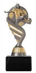 Frauenfußballpokal PF202 altsilber/gold