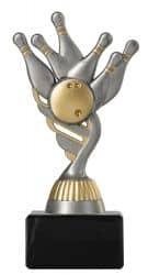 Bowlingpokal PF211 altsilber/gold