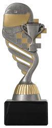 Motorsportpokal PF224 altsilber-gold