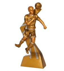 Fußballer Figur TRY-RF3001-G gold
