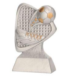 Schuh mit Fußball TRY-RP2011 silber gold