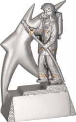 Feuerwehrmann TRY-RP7009 silber