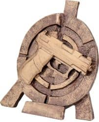 """Schützenpokal """"Pistole"""" TRY-RTY2065 bronze"""