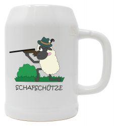 """Bierkrug 0,5l """"Schafschütze"""""""