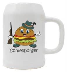 """Bierkrug 0,5l """"Schießbörger"""""""