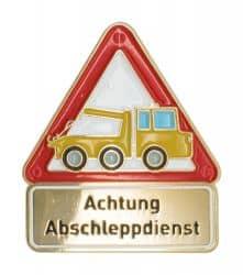 Achtung Abschleppdienst - Pin