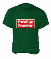 "T-Shirt ""Freiwillige Feierwehr"" - Herren"