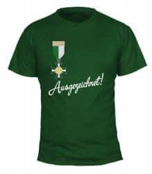 """T-Shirt """"Ausgezeichnet"""" - Herren"""
