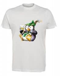 "T-Shirt ""Pinguin Eddy"" - Herren"