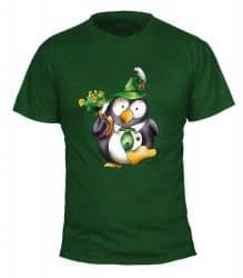 "T-Shirt ""Pinguin Tabsy"" - Herren"