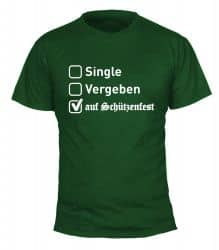 "T-Shirt ""Single"" - Herren"