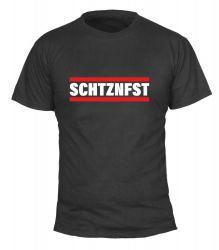 """T-Shirt """"SCHTZNFST"""" - Herren"""