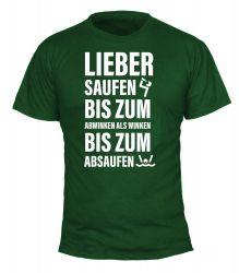 """T-Shirt """"Absaufen"""" - Herren"""