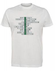 """T-Shirt """"Kreuzworträtsel"""" - Herren"""