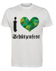 """T-Shirt """"I Love Schützenfest"""" - Herren"""