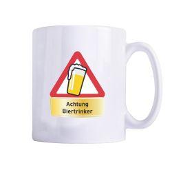 """Tasse """"Achtung Biertrinker"""""""