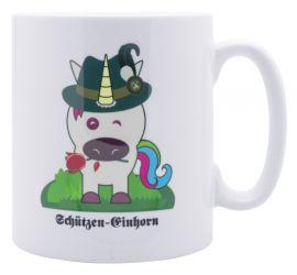 """Tasse """"Schützeneinhorn"""""""
