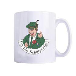 """Tasse """"Ich bin Schützenfest""""-Mann"""