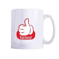 """Tasse Thumbs Up """"Karneval"""""""