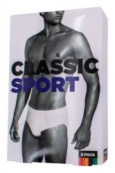 Unterwäsche Classic Sport 2er Pack
