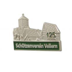 """Pins 3D-Relief geprägt """"Vellern"""""""