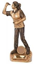 Figur Dartspielerin RF-17058